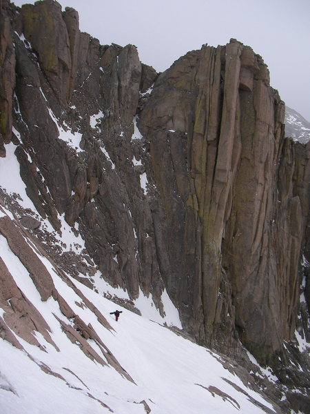 Rock Climbing Photo: The Ledge Traverse
