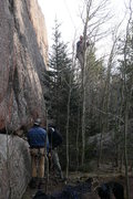 Rock Climbing Photo: This is what happens if your rope is not truly 60m...