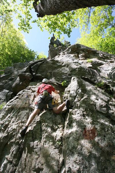 Rock Climbing Photo: Start of Dolt