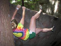 Rock Climbing Photo: marathon traverse.