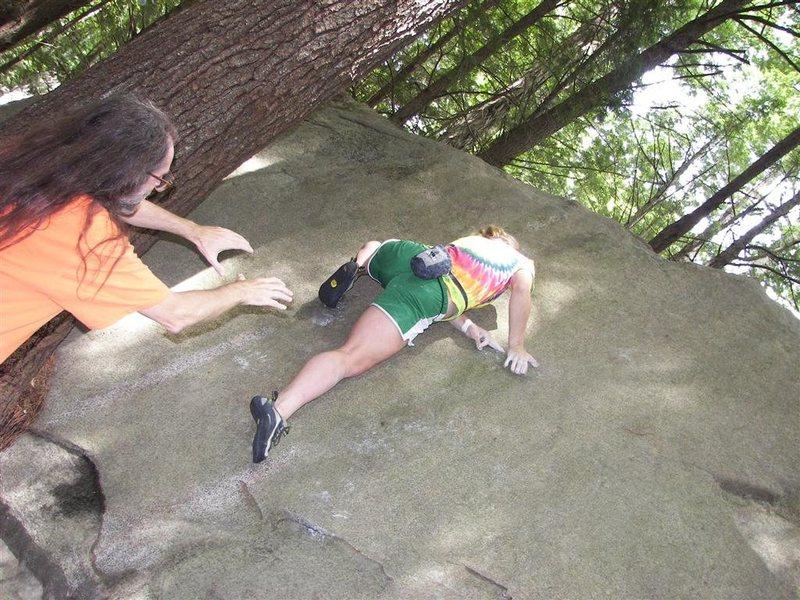 Rock Climbing Photo: good spot. haha