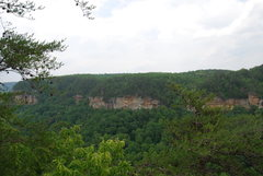 "Rock Climbing Photo: Looking at the ""Tenn. Palisades""?"