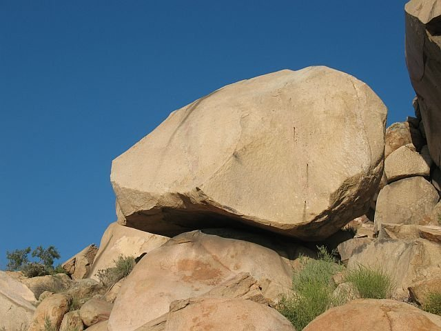 The west face of Minor, Mt. Rubidoux