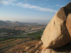 Rock Climbing Photo: The view from Minor, Mt. Rubidoux