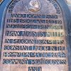 Plaque on the World Peace Tower, Mt. Rubidoux