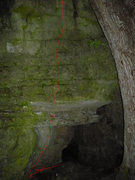 Rock Climbing Photo: Sit start inside left corner. I will have to get a...