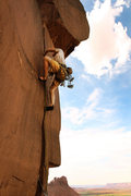 Rock Climbing Photo: Robert Duncan on Unknown at the 4x4 Wall, Indian C...