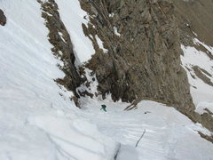 Rock Climbing Photo: Reaping the rewards of the exposed entrance. Mind ...