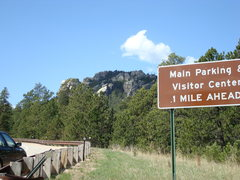 Rock Climbing Photo: Park here!