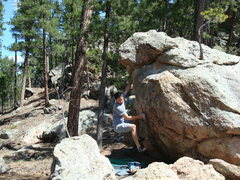 """Rock Climbing Photo: Picture of """"The Liberal"""" taken from the ..."""