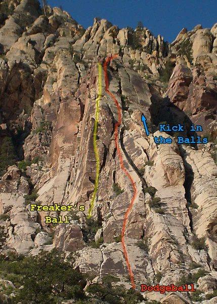 Rock Climbing Photo: Freaker's Ball