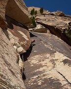 Rock Climbing Photo: This snug slot is an entertaining place to bring y...