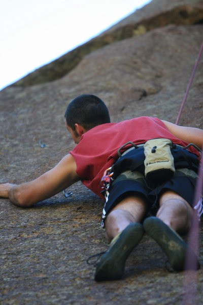 Rock Climbing Photo: NM, cochiti mesa crag