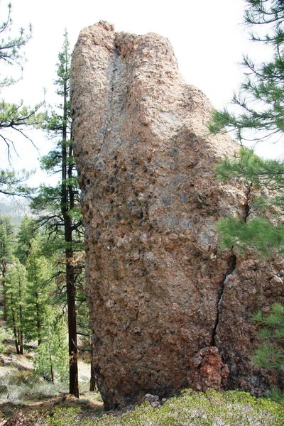 Rock Climbing Photo: Junction Rock's West face