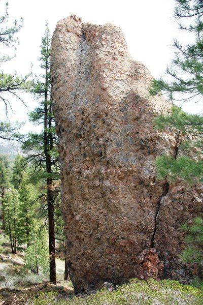 Junction Rock's West face