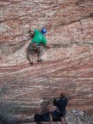 Rock Climbing Photo: Tiger Stripe Wall, Red Rocks
