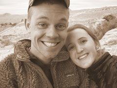 Rock Climbing Photo: Leslie and I