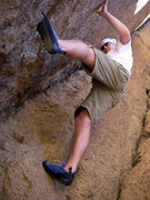 Rock Climbing Photo: Bouldering at Smith Rock, OR