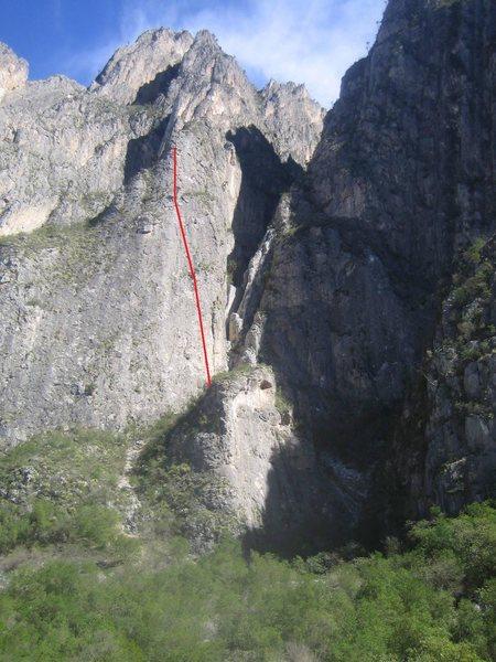 Agua de Coco on the TNT Wall (La Ola is the short wall below).