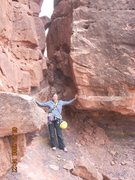 Rock Climbing Photo: base of my first sport lead - looked more fun than...
