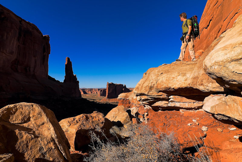 Rock Climbing Photo: Argon Tower Photo by: Frosty Weller