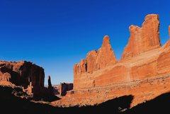 Rock Climbing Photo: Park Avenue - Tower of Babel, Argon Spire, Jello T...