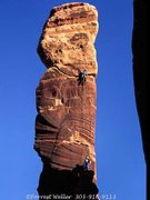 Rock Climbing Photo: Thin Man Pinnacle Photo by: Frosty Weller