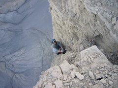 Rock Climbing Photo: The rock really improves towards the top. Pitch 3,...