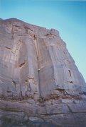 Rock Climbing Photo: Climber on first pitch