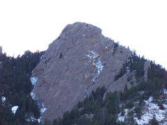 Rock Climbing Photo: Flatiron climb in April