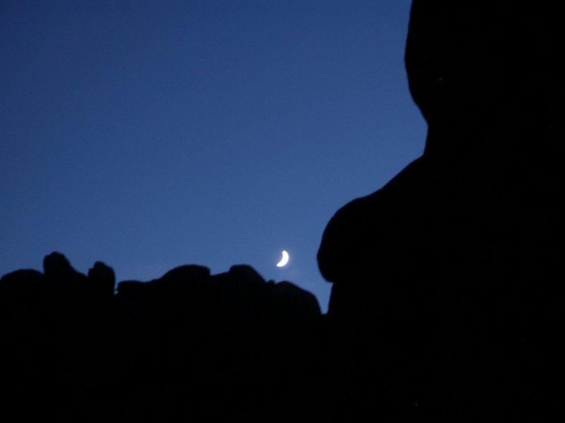 Rock Climbing Photo: Vedauwoo at night