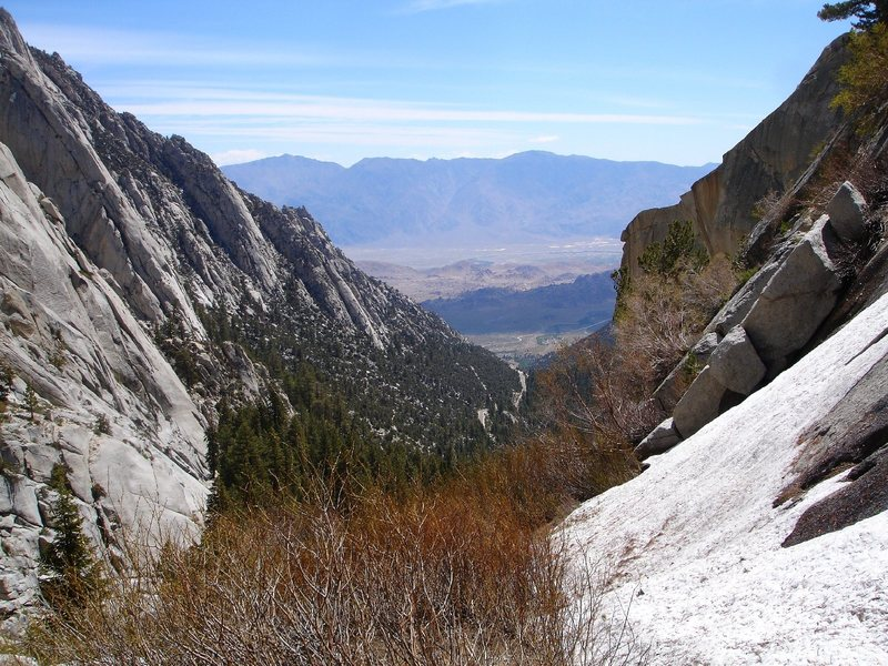 Hiking around Whitney Portal 6/4/08.