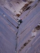 Rock Climbing Photo: Five stars anywhere else, but this is Indian Creek...