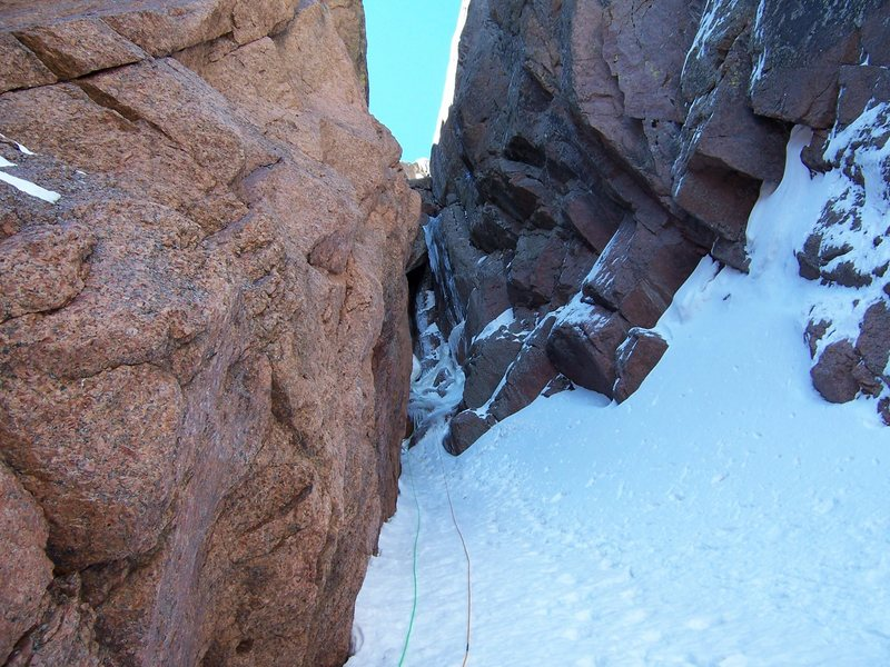 Rock Climbing Photo: Pete Lardy somewhere under the roof in the first p...