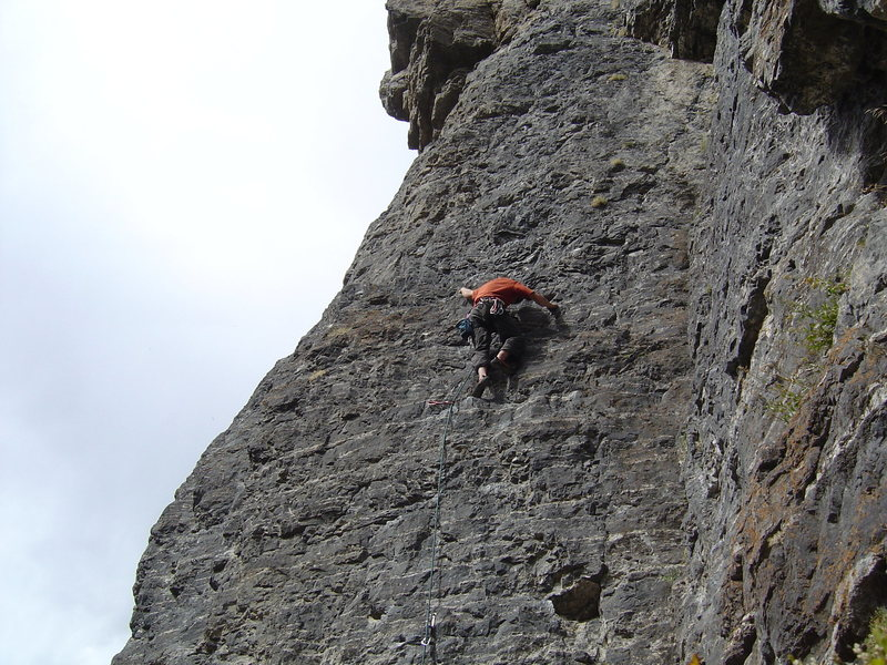 Rock Climbing Photo: a climb in AF canyon