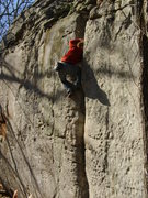 Climbing an unknown off-width