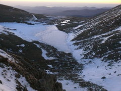 Rock Climbing Photo: Looking down from the top to the east onto Summit ...