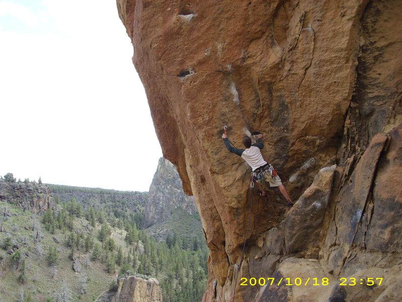 Rock Climbing Photo: Talik on Toxic