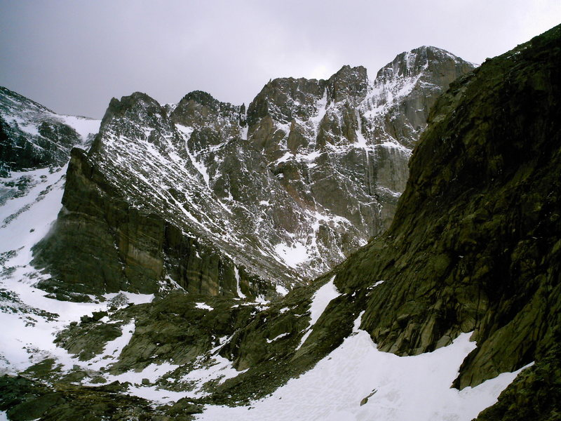 Rock Climbing Photo: Conditions on 8 June 08. Looks like we'll be waiti...
