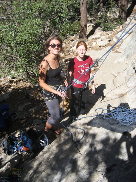 Rock Climbing Photo: Taking my lil' sis on her first outdoor climbing t...