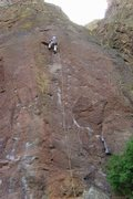 Rock Climbing Photo: A lousy shot but gives a good perspective of the r...