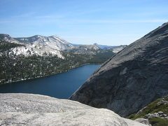 Rock Climbing Photo: The view towards Half Dome from the top of Harlequ...