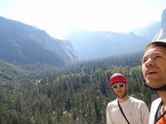 Rock Climbing Photo: With Leo on Commitment, Yosemite Valley.
