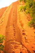 Rock Climbing Photo: Namaste