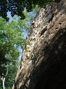 Rock Climbing Photo: Darin leading