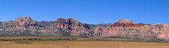 Rock Climbing Photo: Red Rock panoramic