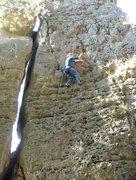 Rock Climbing Photo: The gri-gri self belay.