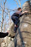 Rock Climbing Photo: Bobble-Grovel, a very insecure-feeling may ensue.....