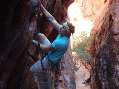 Rock Climbing Photo: All good holds after the hueco.