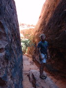 Rock Climbing Photo: Trying to figure out which route to do in the lowe...